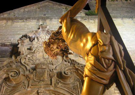 Cristo de la noche oscura en la jornada del Martes Santo