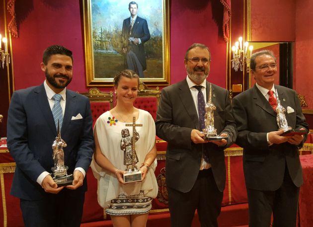 Galardonados con los premios Nazareno 2017 de Radio Granada y El Corte Inglés