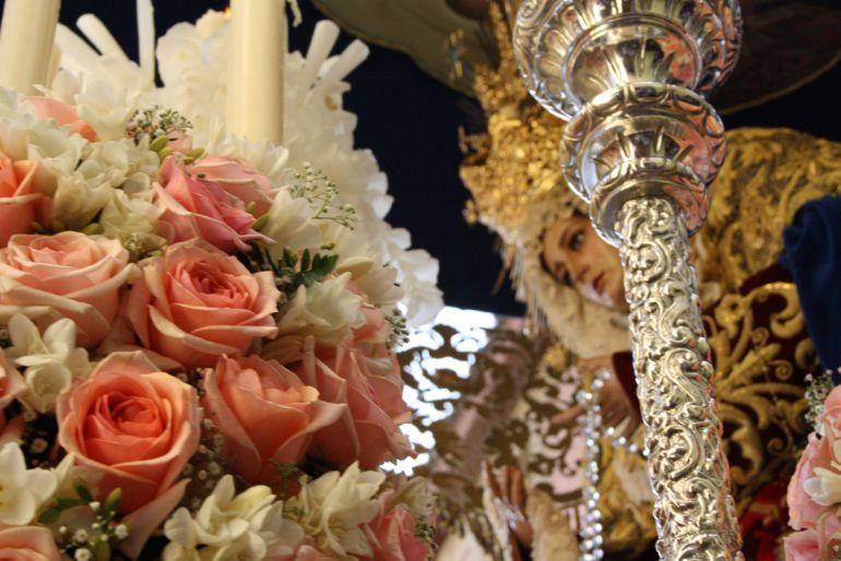 Virgen de la Paz de la hermandad de La Borriquilla de Granada