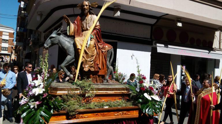La procesión de La Borriquilla tiene un especial protagonismo para los niños