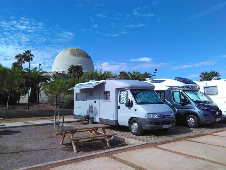 CASTELLÓN: La ordenanza que regula el parking de autocaravanas no estará lista en Semana Santa