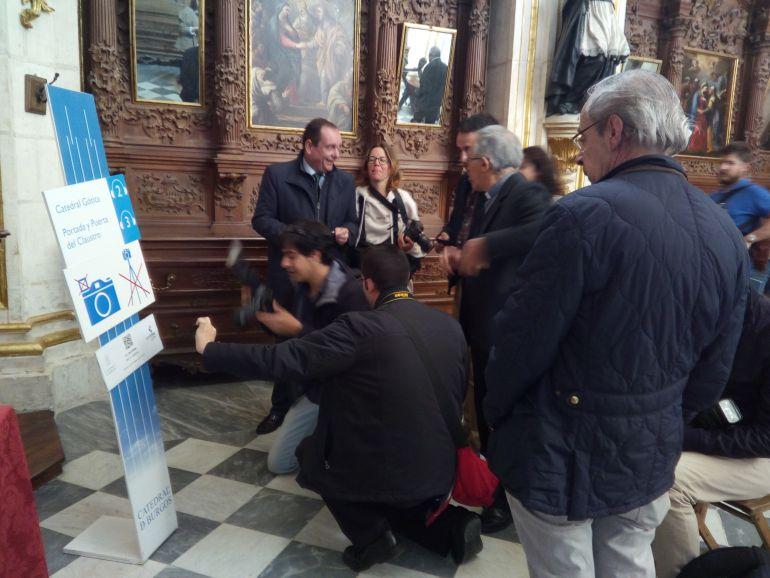 WIFI Catedral Burgos: La catedral de Burgos pionera en un código QR en cuatro idiomas