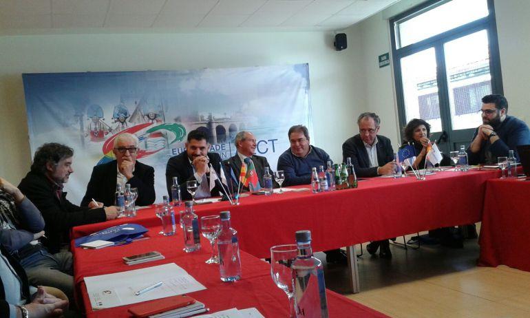 Representantes EACT Río Miño visitan Eurocidade Verín-Chaves