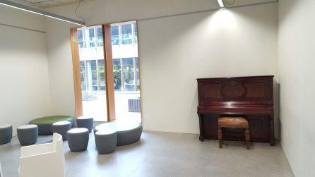 Piano instalado en el Centro Carlos Santamaría de la UPV