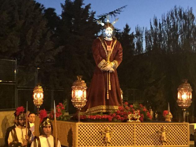 La imagen de Jesús Cautivo recorre las calles del barrio de San José.