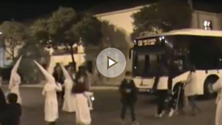 Captura del vídeo que circula por las redes