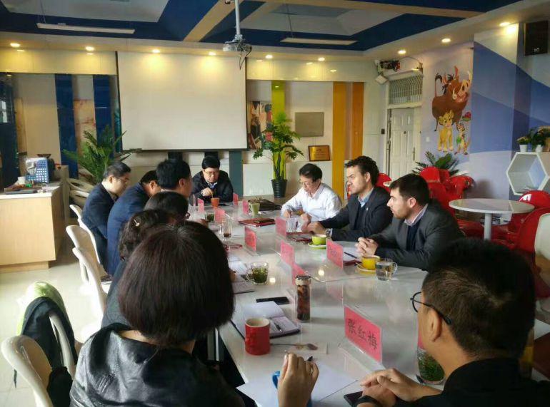 La reunión con la delegación de China fue muy fructífera