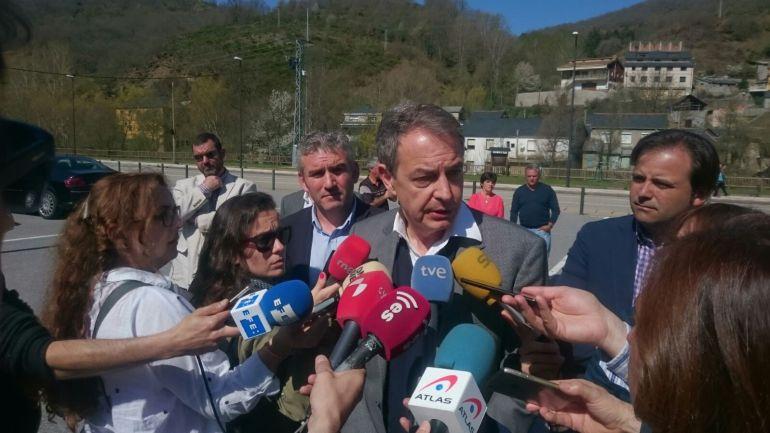 Zapatero califica de 'derrota de estado' el cierre de la minería del carbón