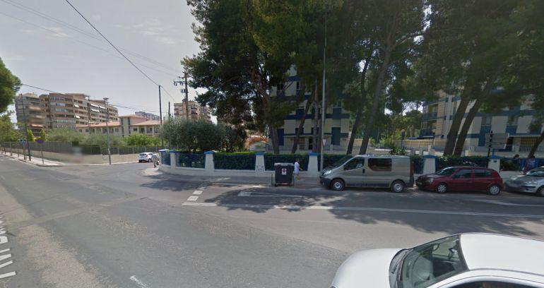 El choque fue en el cruce de la avenida Barcelona con la gran avenida