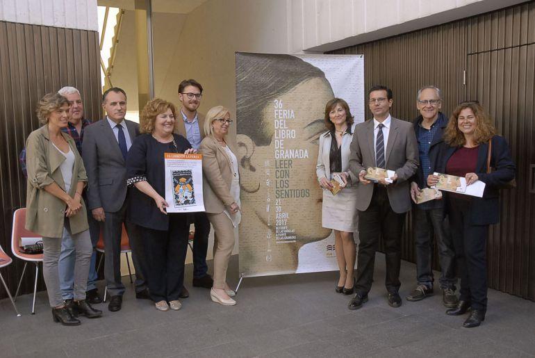 Presentación de la Feria del Libro de Granada