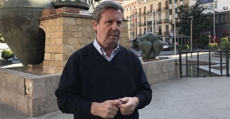 El secretario provincial del PP de Jaén, Miguel Ángel García Anguita.