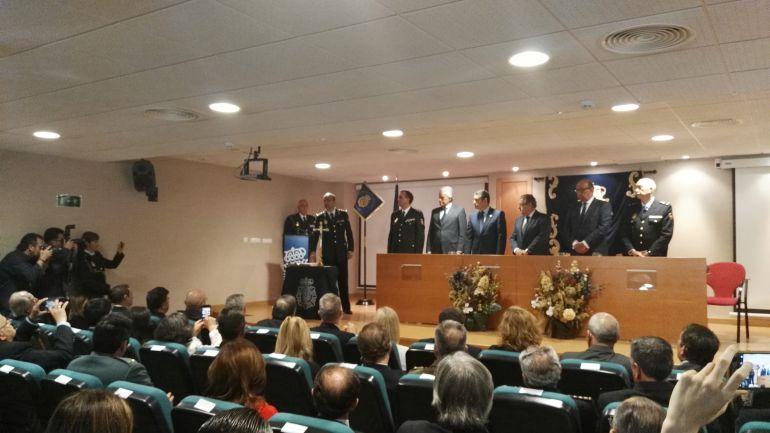 El ministro del Interior, Juan Ignacio Zoido, preside en Jerez la toma de posesión del nuevo comisario de la ciudad Francisco José García