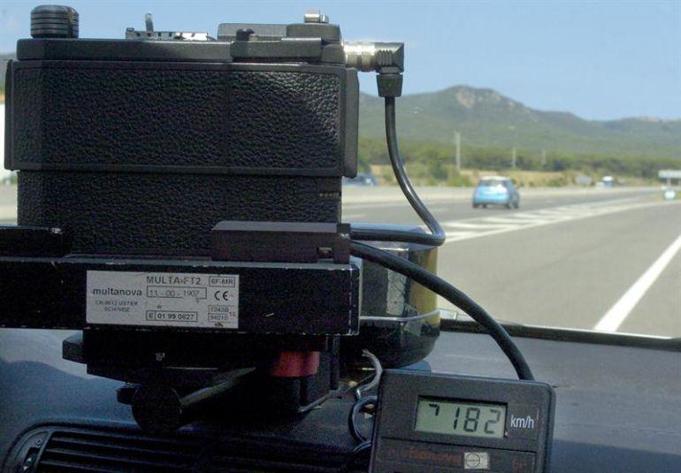Nueva campaña intensiva de controles de velocidad