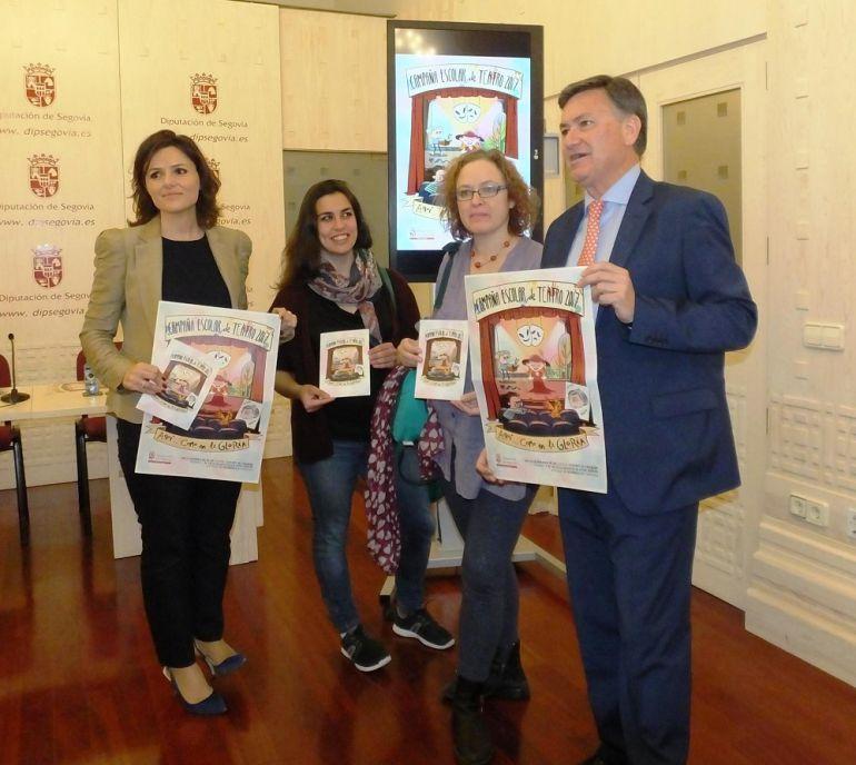 Presentación de la Campaña de Teatro Escolar de la Diputación