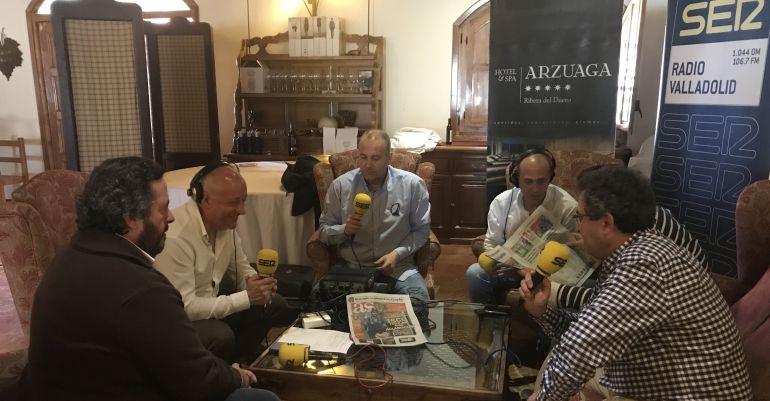 Nacho Arzuaga, Tornadijo, Rojí, Carlos Raúl, Bailador y 'Canas'