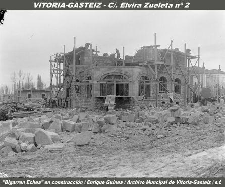 CONSTRUCCIÓN DE BIGARREN ETXEA