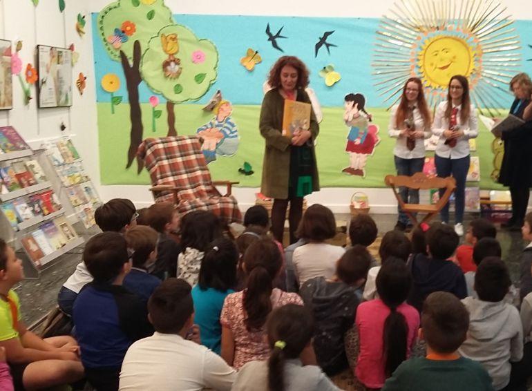 El Salibrín, cita con la lectura para los escolares de Ponferrada