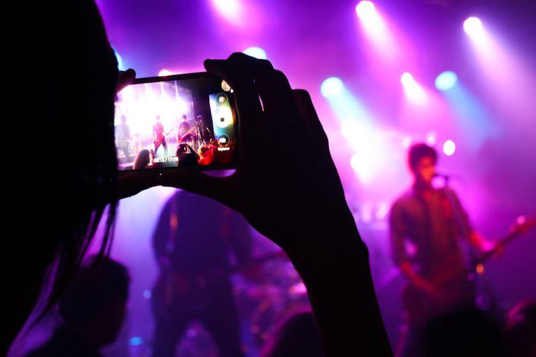 Imagen de un concierto