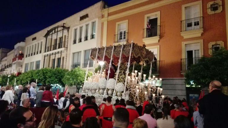 Imagen de la Semana Santa de Jerez