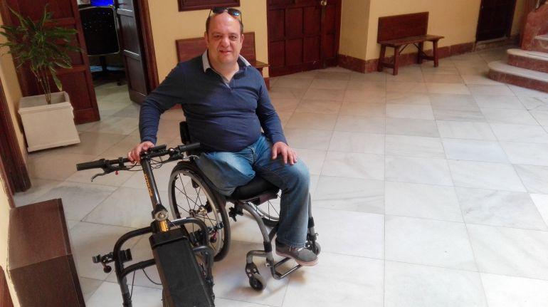 Salvador Garrido, presidente de Élite Inclusión, en Radio Jerez