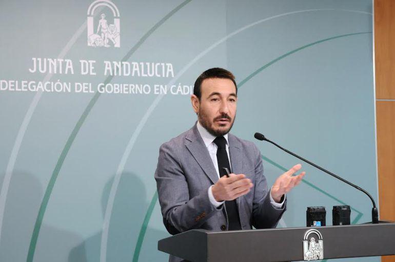 Imagen de Fernando López Gil, delegado del gobierno andaluz en la provincia de Cádiz