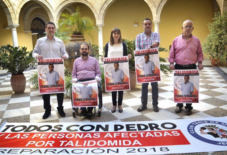 Presentación del cartel de homenaje a Pedro Fernández