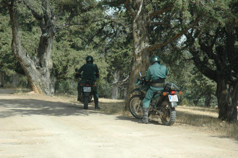 Agentes del Seprona realizan dispositivos para controlar los vehículos a motor por diferentes espacios protegidos