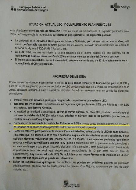 """SANIDAD: """"La Junta da instrucciones para maquillar las listas de espera"""""""