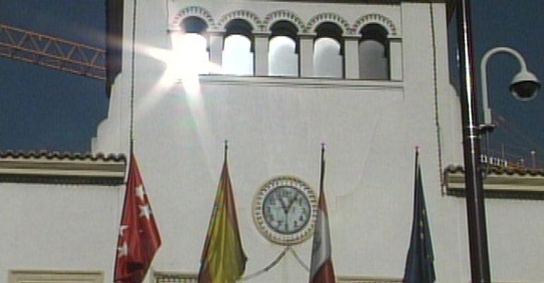 Fachada del edificio consistorial de Sanse