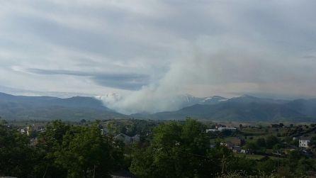 incendio declarado en Bouzas