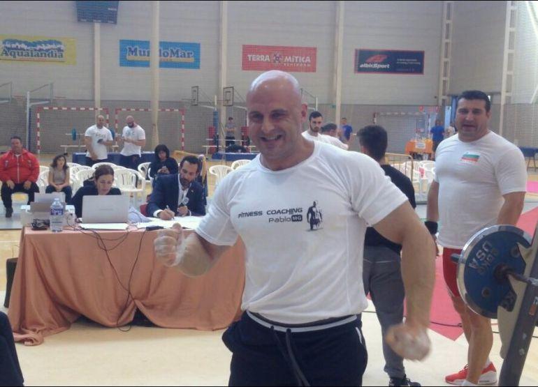 Pablo Murcia García tras lograr el título mundial