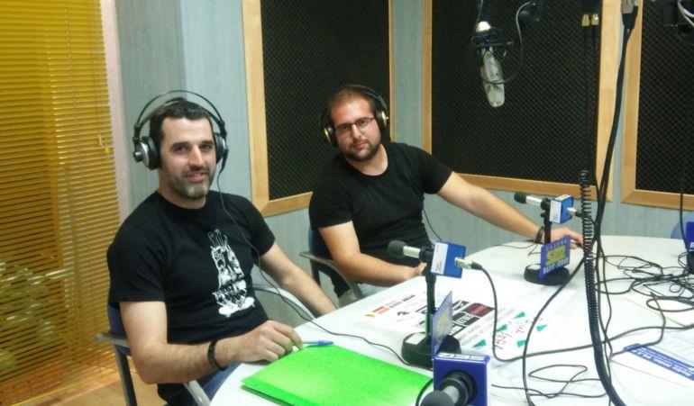 Andres Rodriguez y Fran Linde, de 'Peña Rock y sus derivados', han presentado la 'Primavera Rock' ante nuestros mifrofonos