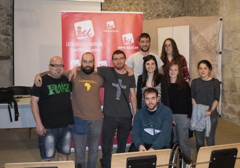 Cuéllar fue el lugar elegido para constituir el Área de Juventud de Izquierda Unida de Segovia