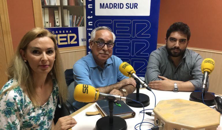 Los representantes de Ciudadanos, PP y Ganemos