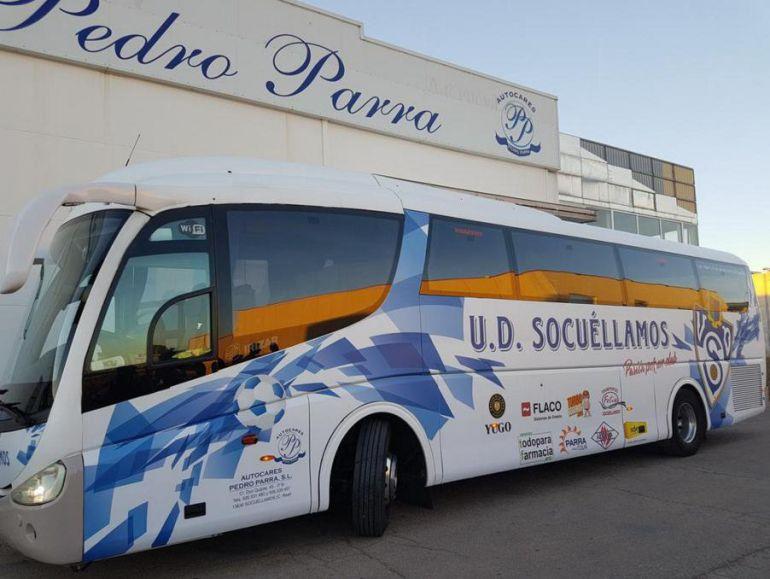 La afición del Socuéllamos responde, ya ha llenado un bus con destino Madrid