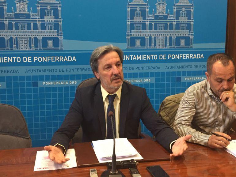 Pedro Muñoz, en rueda de prensa