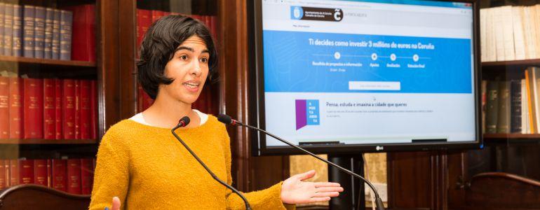 A Coruña: La Marea reservará tres millones para los 'Orzamentos Participativos' de 2018