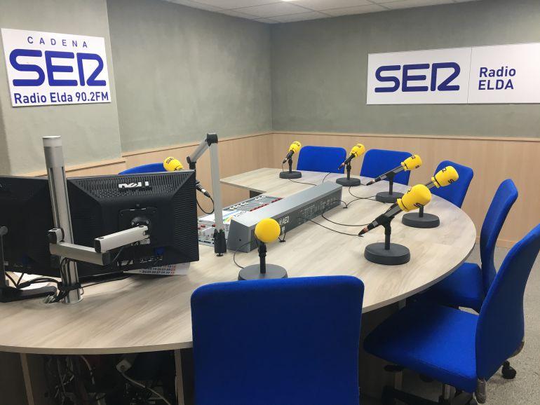 Estudio 1 de Radio Elda Cadena SER