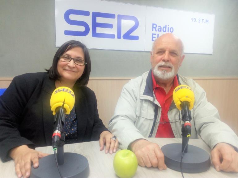 Máverich y Juan Jº Verdú, integrantes de la Asociación Cultural Elda, en el programa Vinalopó Hoy por Hoy