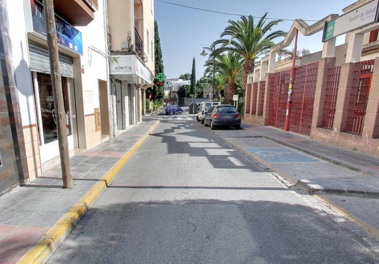 Calle Zacatín de Pinos Puente (Granada)