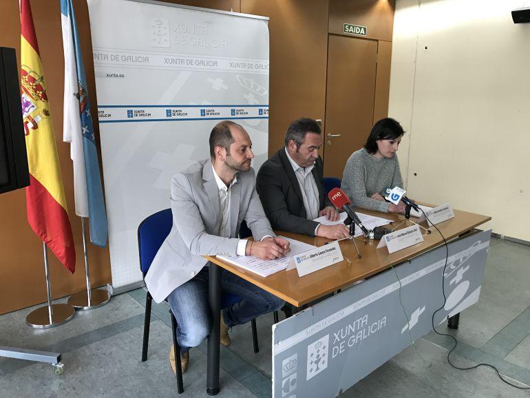 Rueda de prensa de presentación de los campamentos de verano de la Xunta de Galicia