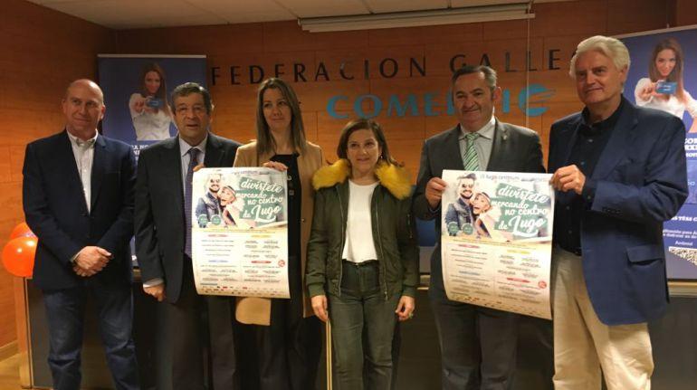 Presentación de la campaña de dinamización del comercio en el casco histórico de Lugo