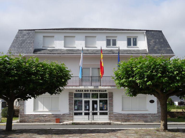 Casa consistorial de Xermade, dónde este sábado tendrá lugar una concentración para reclamar a la Xunta el arreglo de la LU-170 entre Momán y Cabreiros.