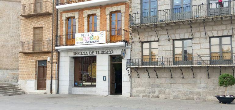 Oficina de Turismo ubicada en la Plaza Mayor de Medina del Campo