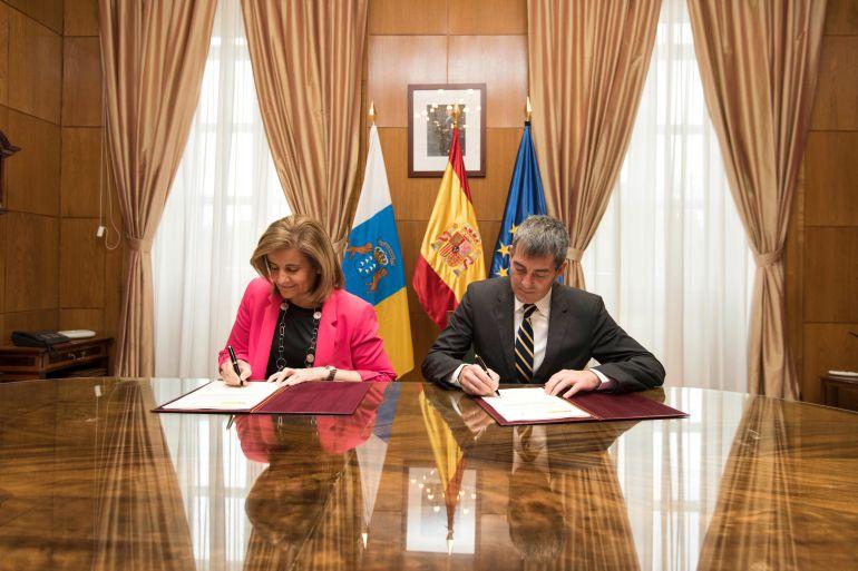 Resultado de imagen de Báñez asegura que Canarias ha recuperado dos de cada tres empleos perdidos en la crisis