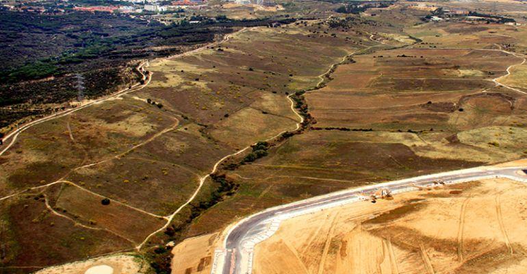 Terrenos donde se plante el desarrollo urbanístico de Los Carriles