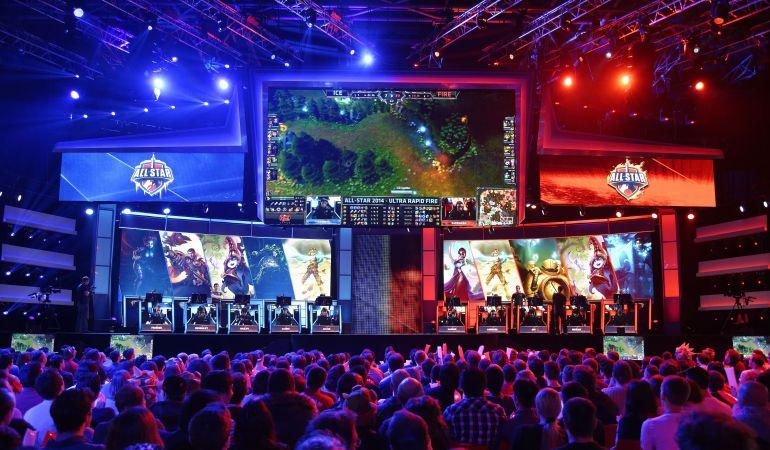 Un torneo de League of Legends disputado en Francia