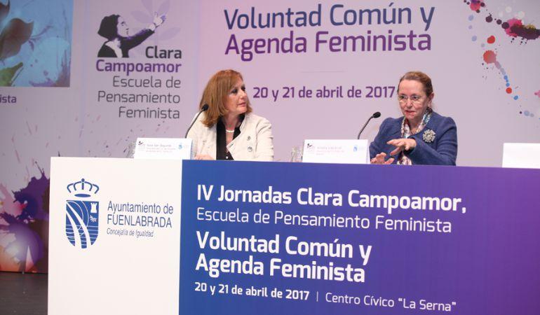 Comienzan en Fuenlabrada las IV Jornadas Clara Campoamor.