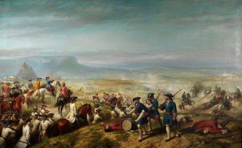 'La batalla de Almansa', Ricardo Balaca (1862)
