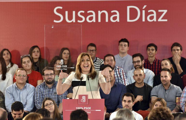 Todo preparado para el acto de Susana Díaz en Albacete este sábado